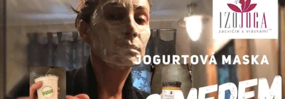 Domaci maska z jogurtu a medu, Jak na to?u