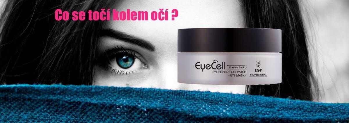EyeCell peptidové polštářky