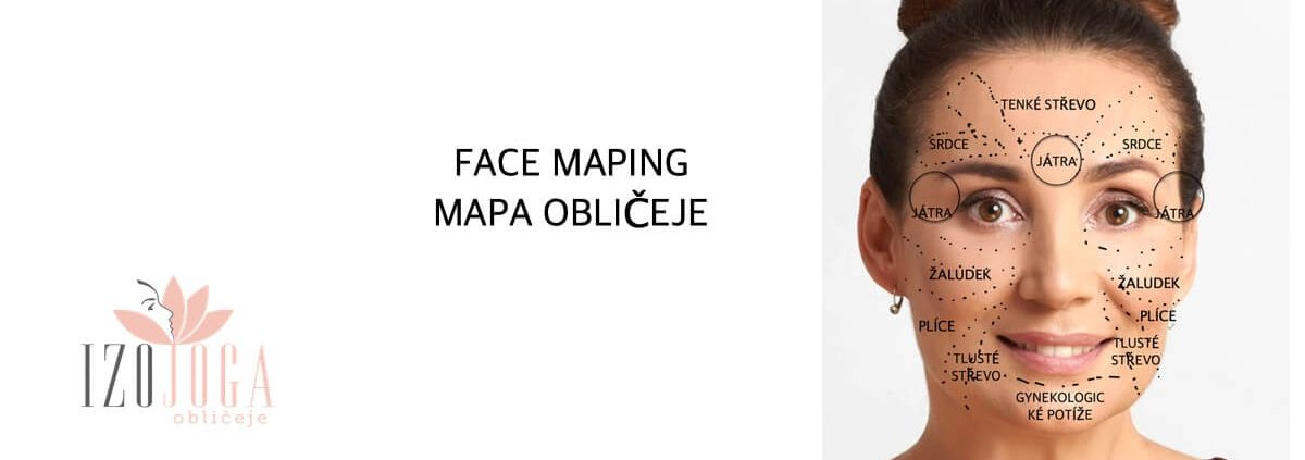 Mapa obličeje