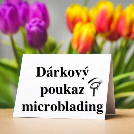 Dárkový poukaz microblading