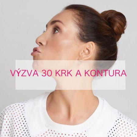 30 denní výzva pro krk a konturu obličeje
